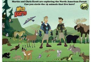 photograph regarding Wild Kratts Creature Power Discs Printable named Wild Kratts Birthday Occasion Birthday Celebration for PBS Little ones