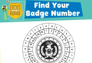 photo regarding Odd Squad Badge Printable named Peculiar Squad PBS Children Exhibits PBS Little ones for Mother and father
