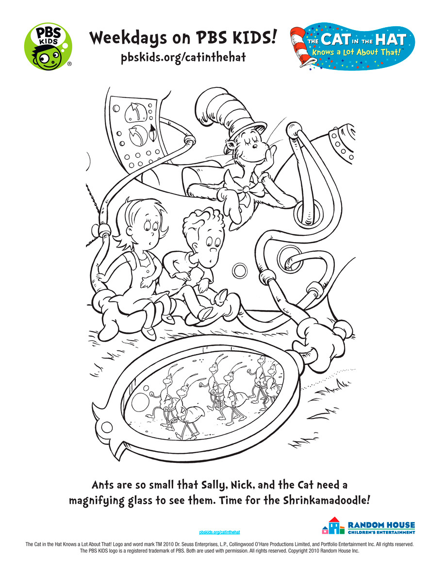 Shrinkamadoodle Coloring Page | Kids Coloring… | PBS KIDS ...