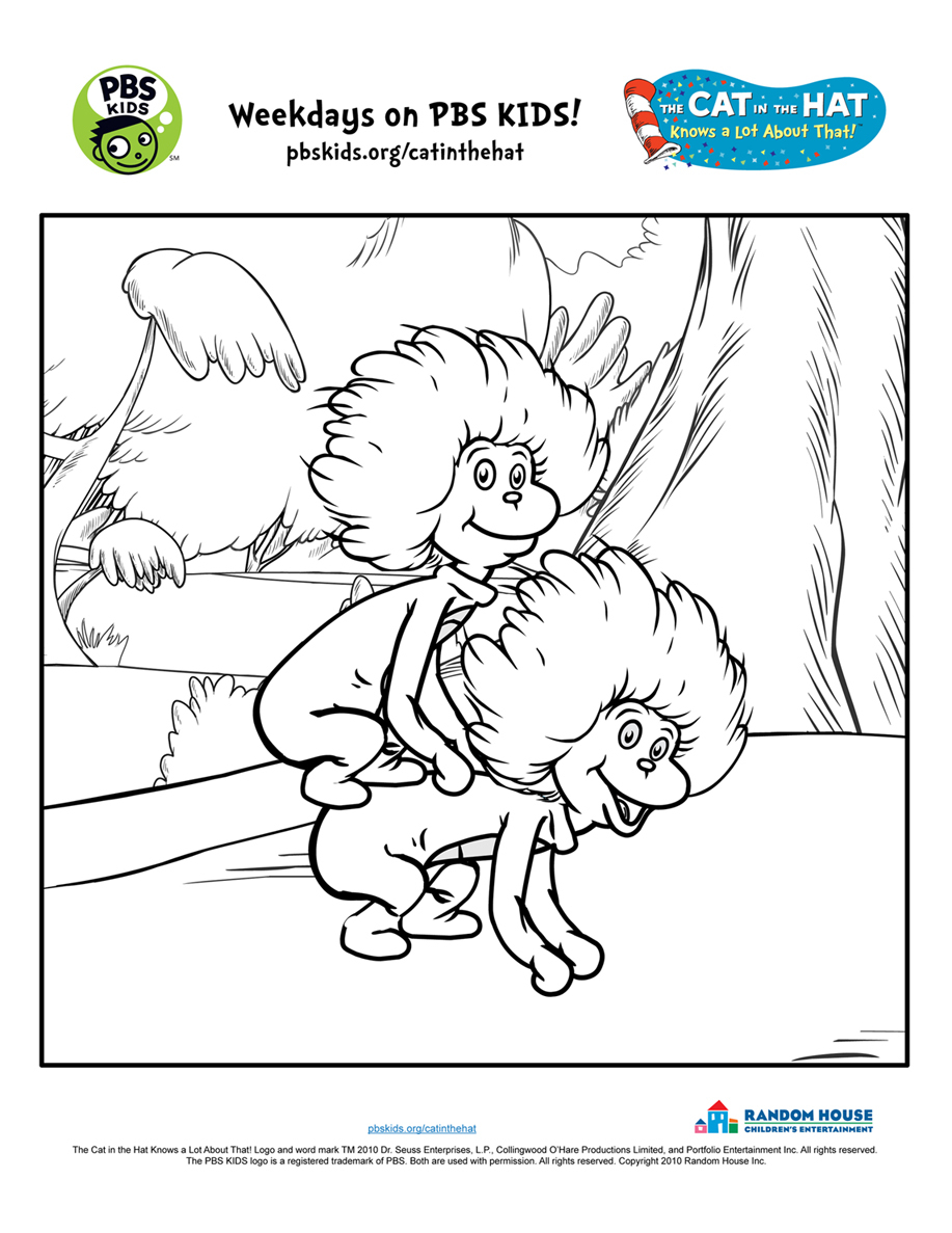 Printable Coloring Pages Cat In The Hat - Coloring Home | 1187x917