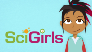 Icon for SciGirls.