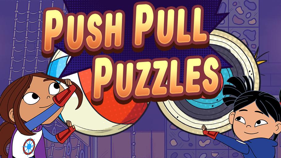 Push Pull Puzzles