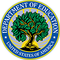 U.S. Department of Education logo.