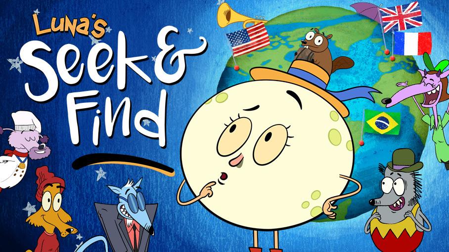 Luna's Seek & Find