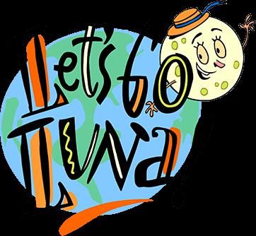 Let's Go Luna logo.
