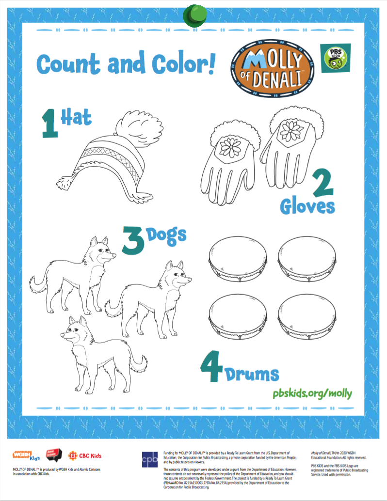 Molly Count and Color