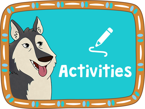 Activities Button.