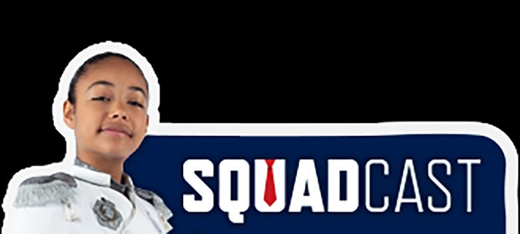 Squadcast button.
