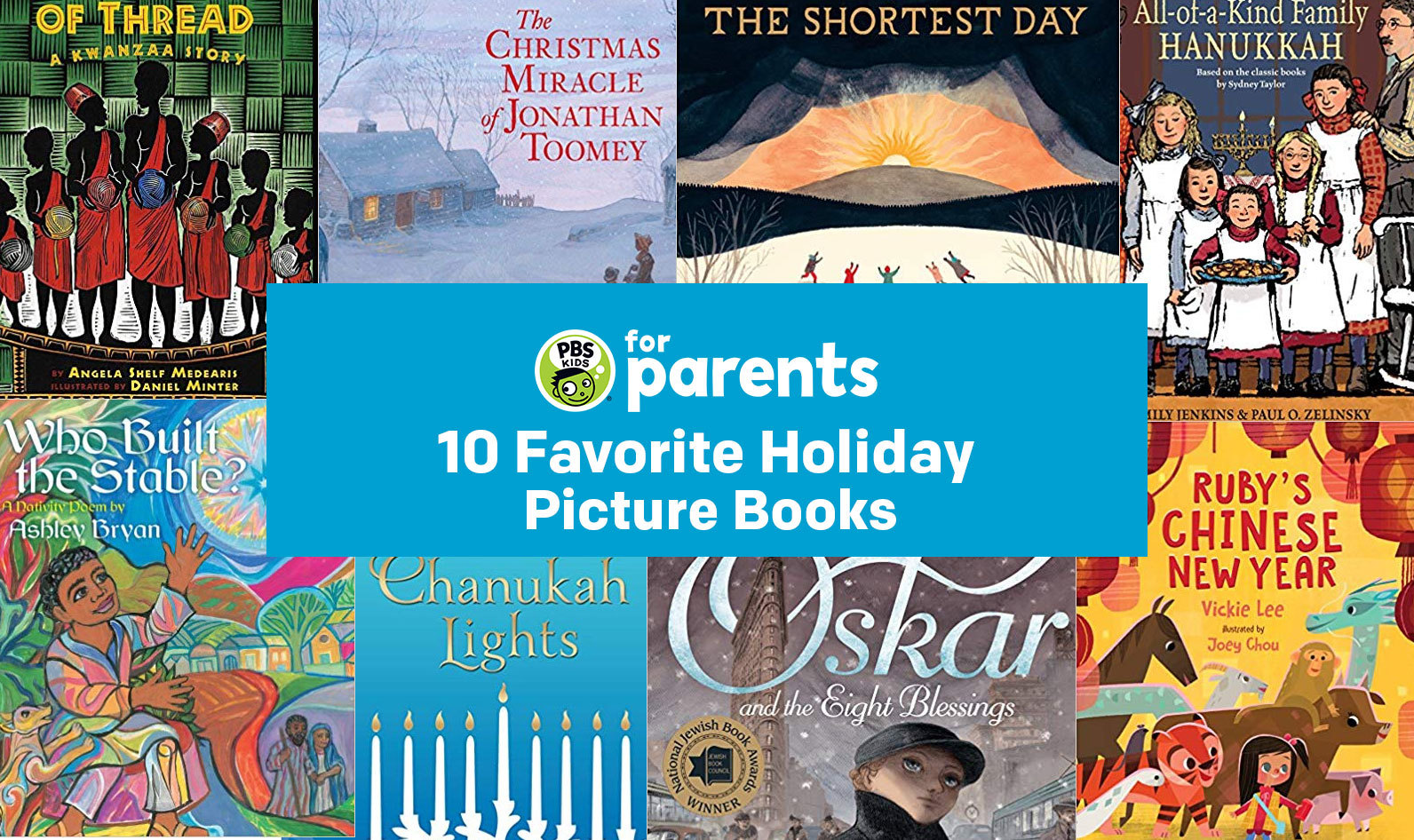 10 Favorite Holiday Picture Books | Parenting Tips & Advice | PBS KIDS for Parents