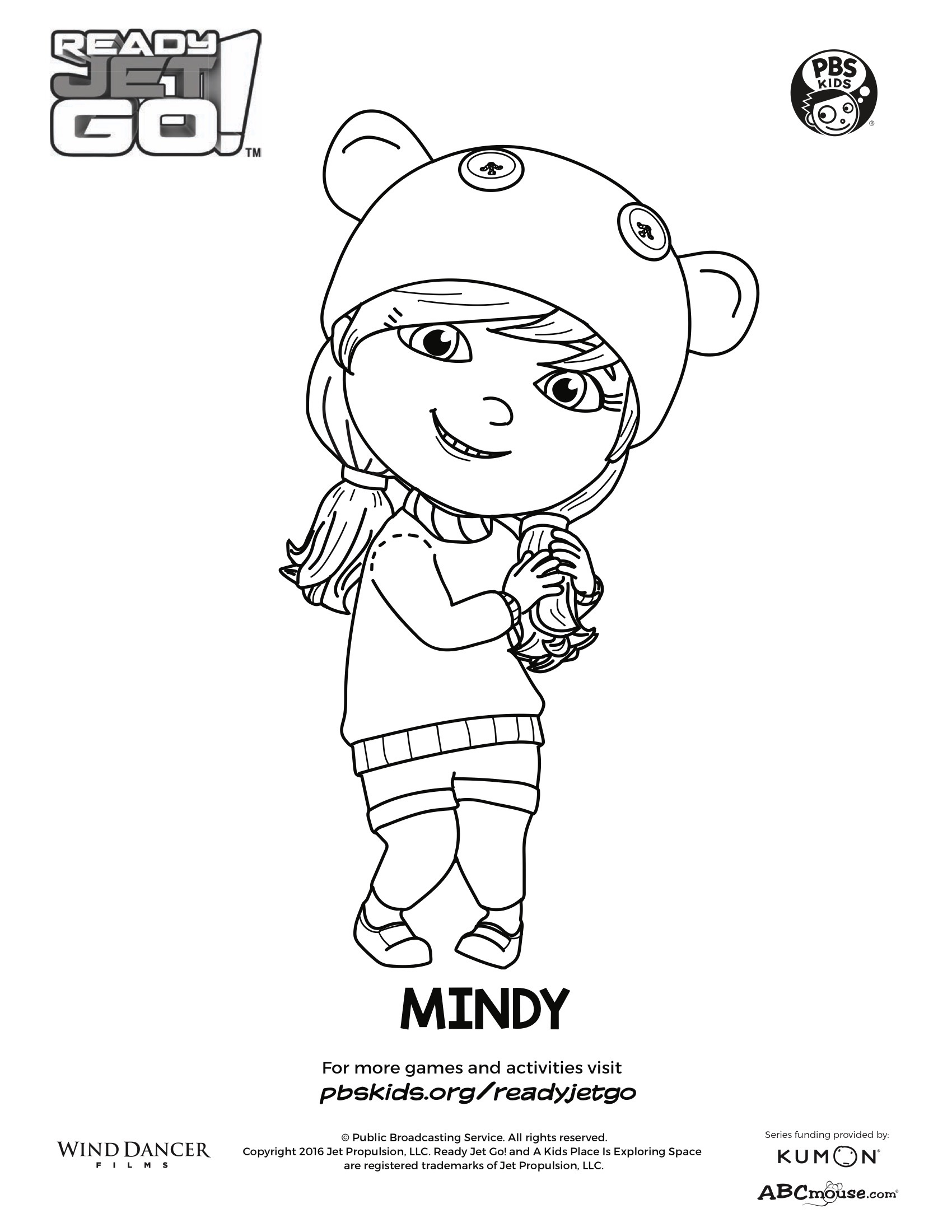 Mindy Coloring Page | Kids Coloring Pages | PBS KIDS for Parents