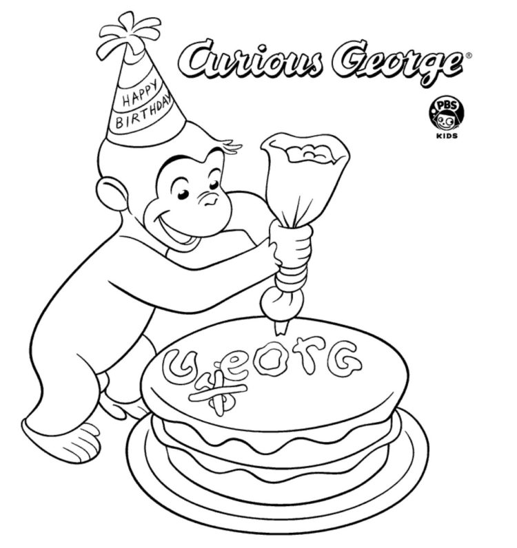 Amazing Birthday Cake Coloring Page Kids Coloring Pbs Kids For Parents Funny Birthday Cards Online Overcheapnameinfo