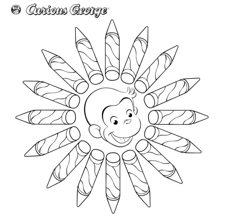 Crayons Coloring Page Kids Coloring Pages PBS KIDS For Parents