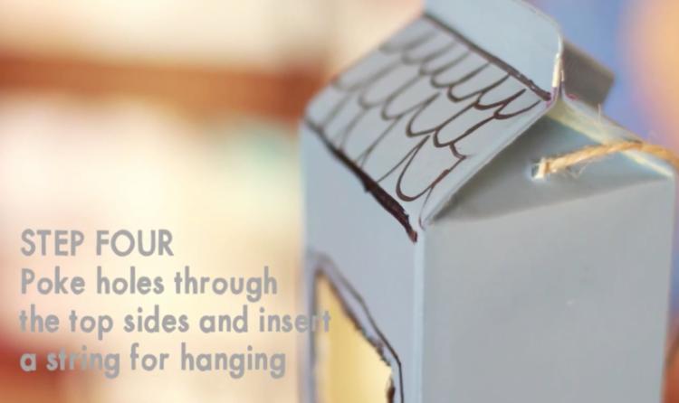 Image of DIY bird feeder step 4