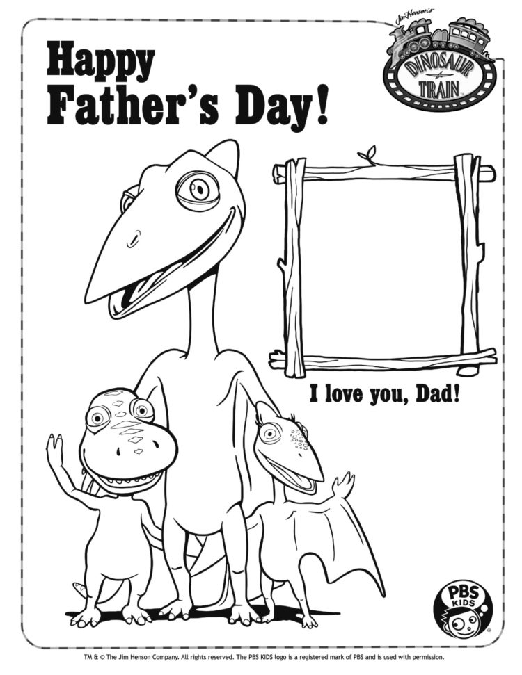 Happy Fathers Day Coloring Page Kids Pbs Kids For Parents