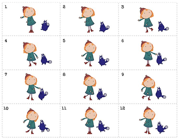 picture regarding Printable Flip Book identify The Peg + Cat Huge Jig Flipbook Little ones Coloring PBS Children