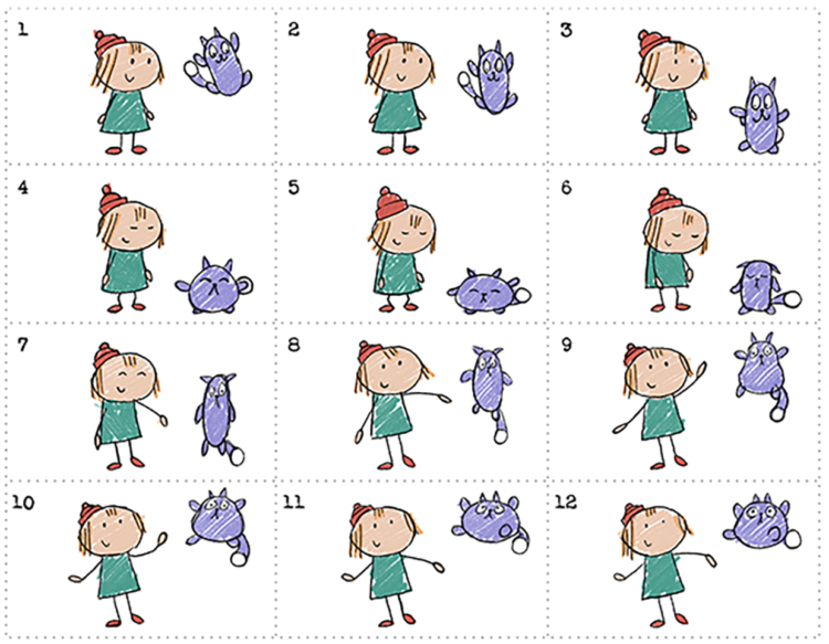 picture relating to Printable Flip Books identified as The Peg + Cat Floppy Hop Flipbook Small children PBS Young children for Mothers and fathers