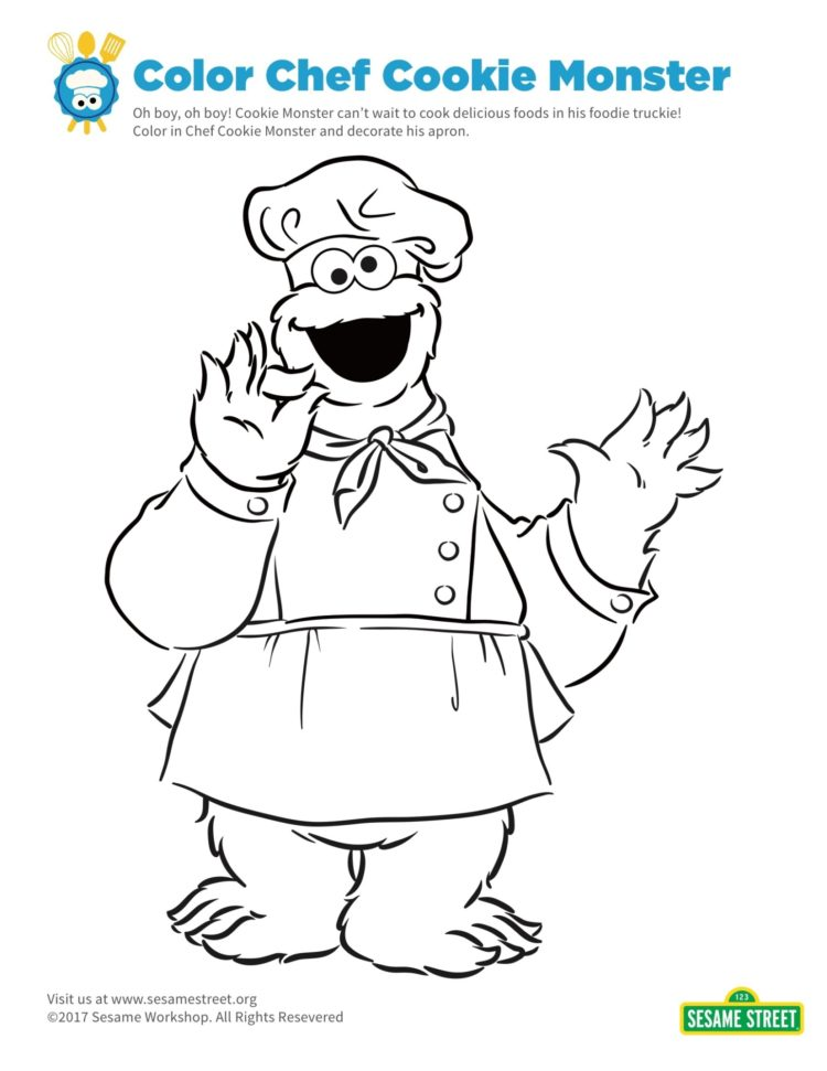 chef Coloring Page - Free Disabled People Coloring Pages ... | 971x750