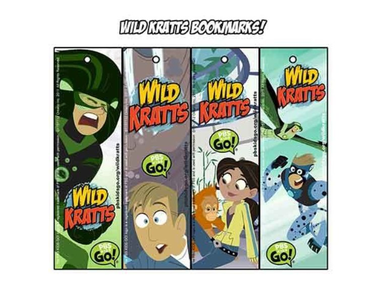 Wild Kratts Bookmarks | Kids Coloring Pages | PBS KIDS for ...