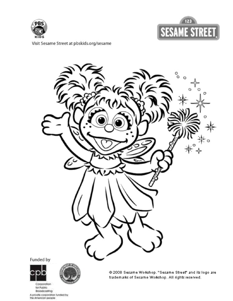 - Abby Cadabby Coloring Page Kids Coloring… PBS KIDS For Parents