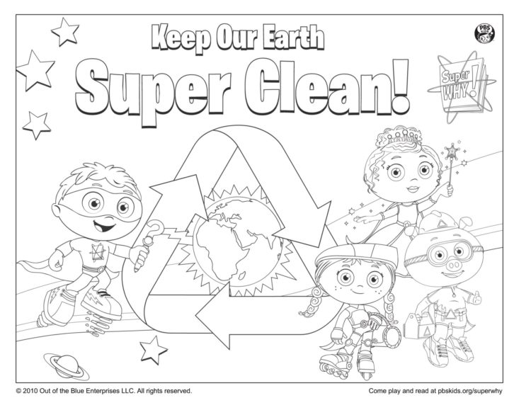 Earth Day! Coloring Page Kids Coloring Pages PBS KIDS For Parents