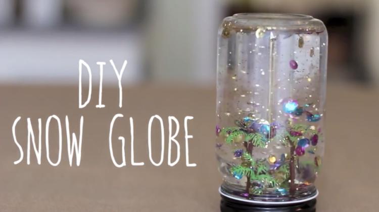 Image final DIY snow globe