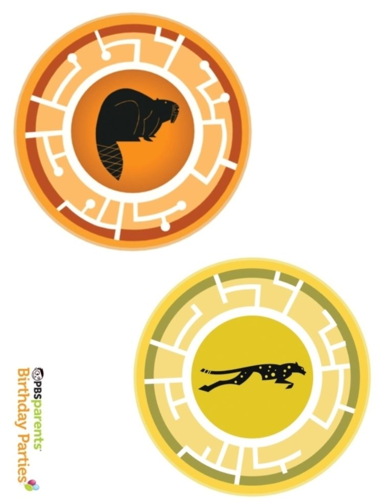 image about Creature Power Discs Printable titled Wild Kratts Creature Electricity Discs Small children PBS Children for Mother and father