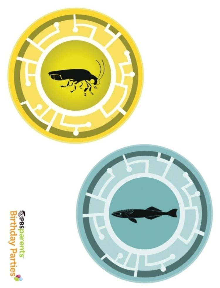 picture about Wild Kratts Creature Power Discs Printable known as Wild Kratts Creature Electrical power Discs Youngsters PBS Small children for Mom and dad