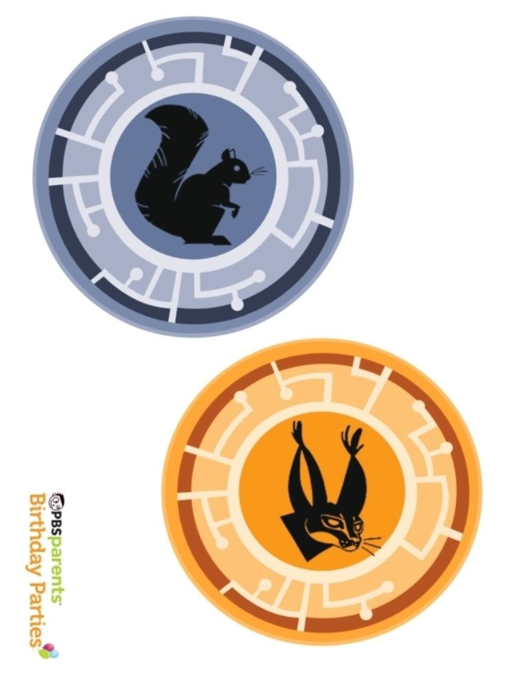 picture about Creature Power Discs Printable titled Wild Kratts Creature Electrical power Discs Young children PBS Children for Dad and mom