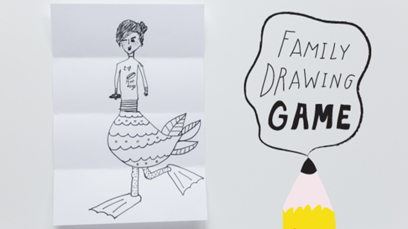 drawing game art Family Drawing Game Crafts For Kids PBS KIDS For Parents