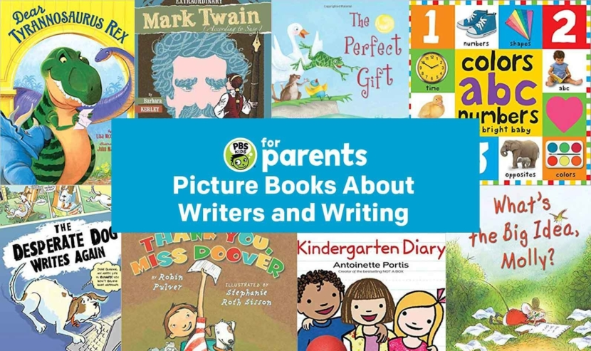 Picture Books About Writers and Writing |… | PBS KIDS for