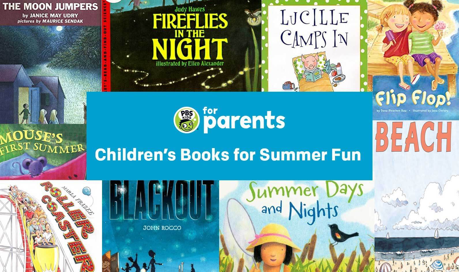 Children S Books For Summer Fun Parenting Pbs Kids For Parents