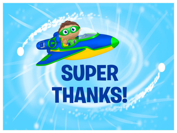 Super Why! Thank You Cards   Kids Coloring…   PBS KIDS for ...