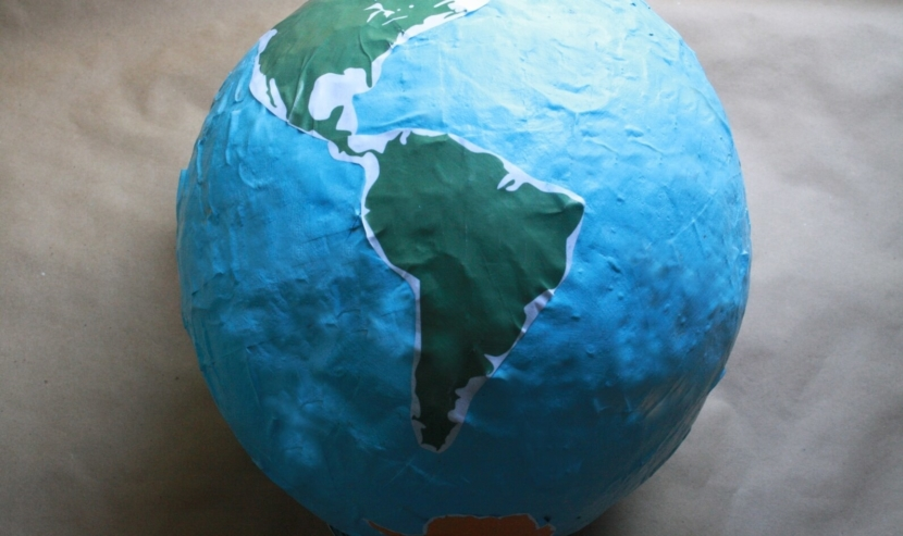 Paper Mache Earth Centerpiece Crafts For Kids Pbs Kids For Parents