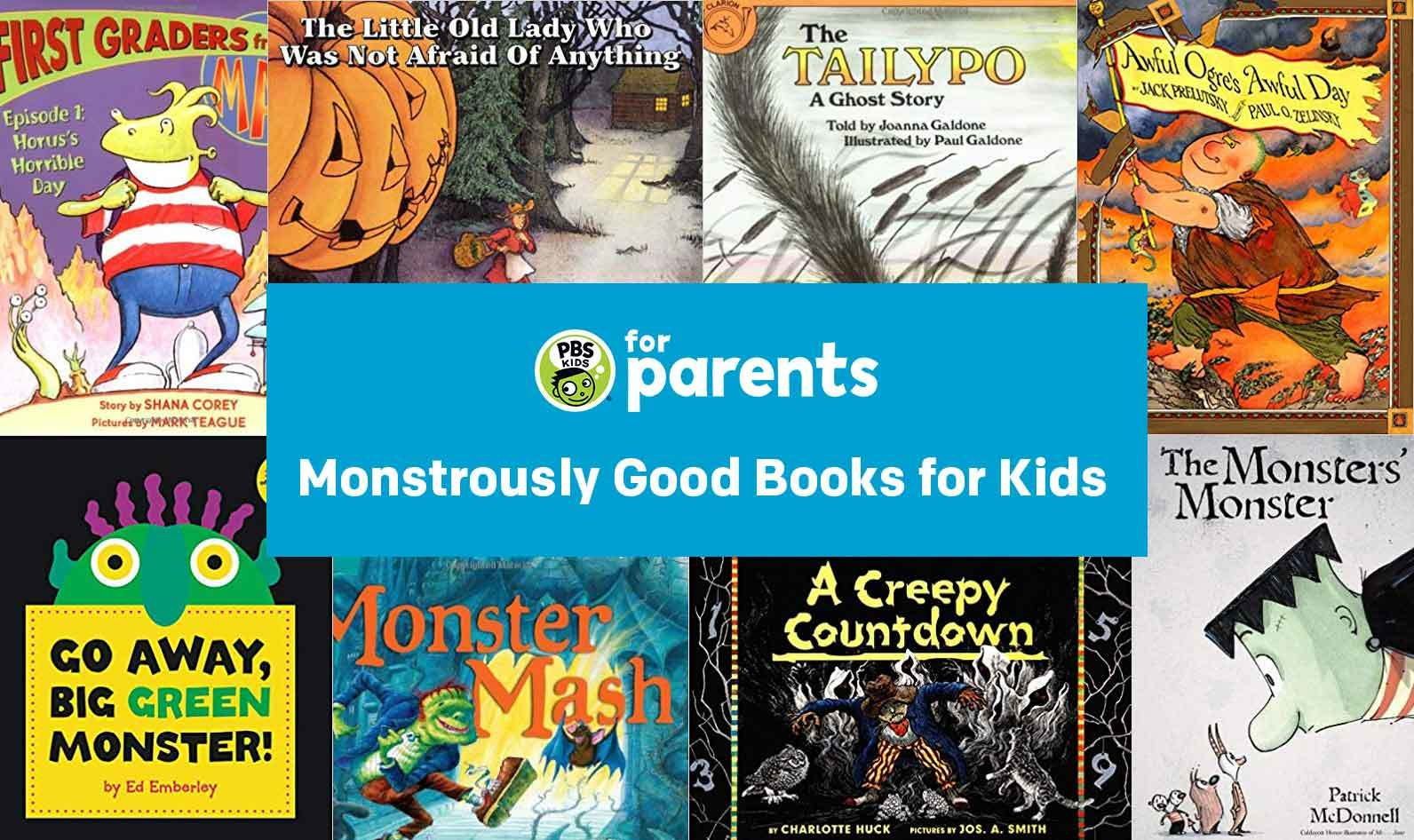 Monstrously Good Books for Kids | Parenting… | PBS KIDS for