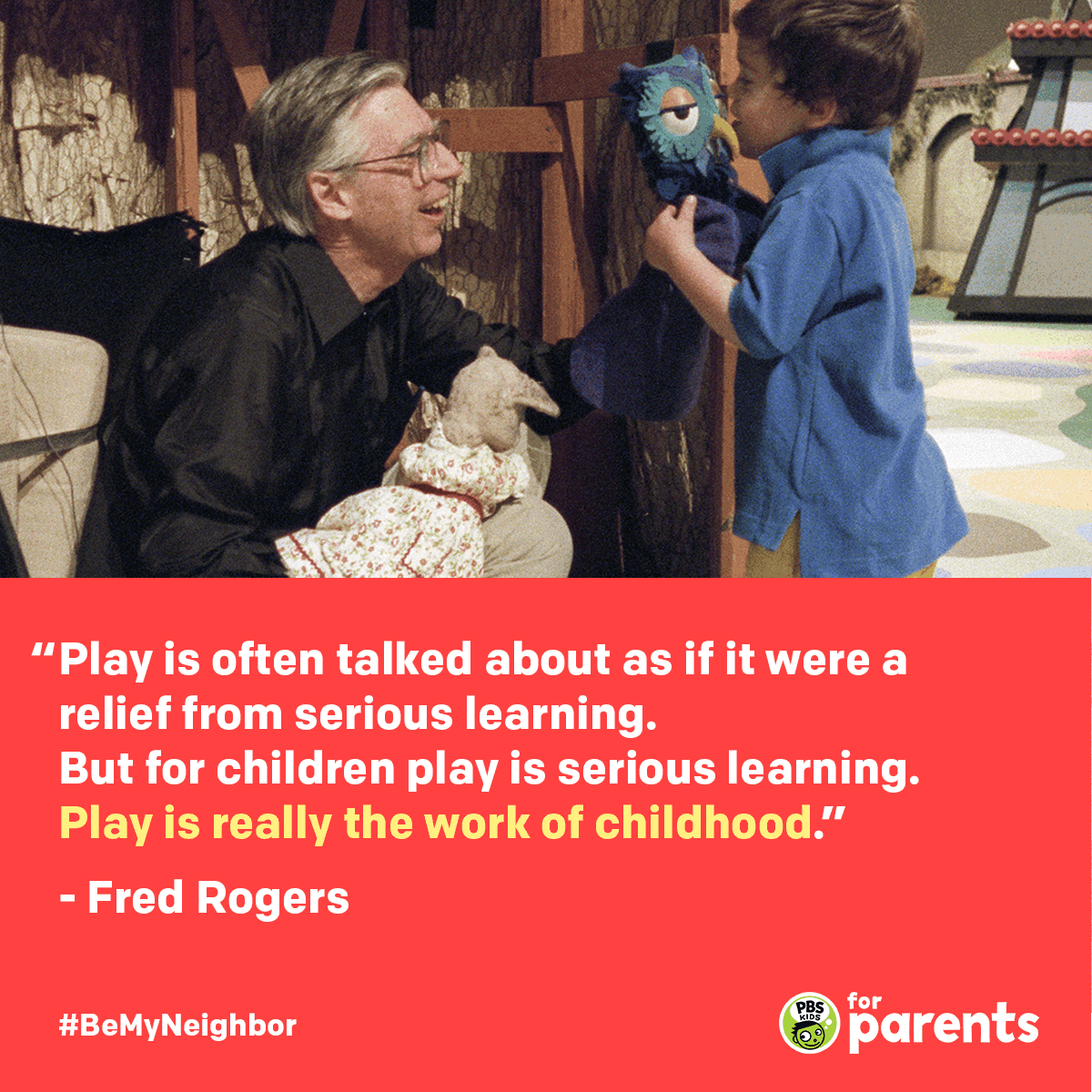 Mister Rogers Play