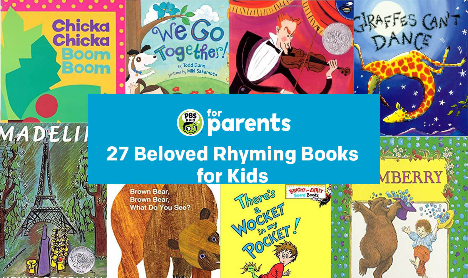 27 Beloved Rhyming Books for Kids | Parenting Tips & Advice | PBS KIDS for Parents