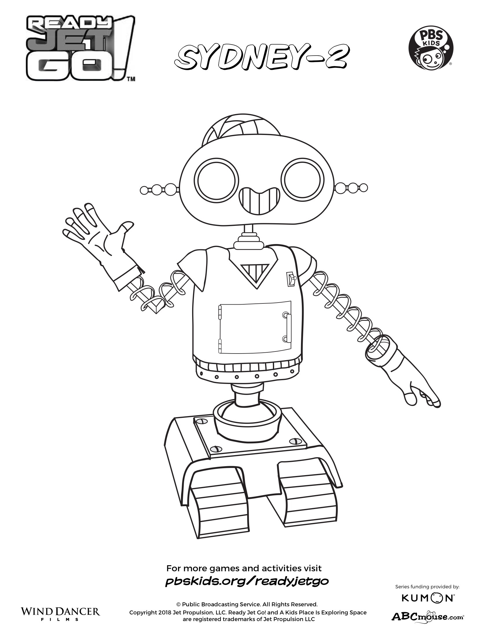 Sydney-2 Coloring Page | Kids Coloring Pages | PBS KIDS for Parents