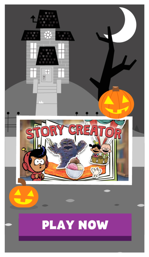Play Halloween games from Xavier Riddle, Daniel Tiger, Pinkalicious, and other PBS KIDS Shows!