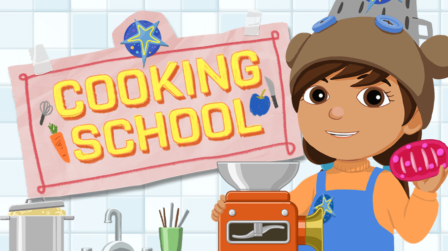 Ready Jet Go Cooking School Game