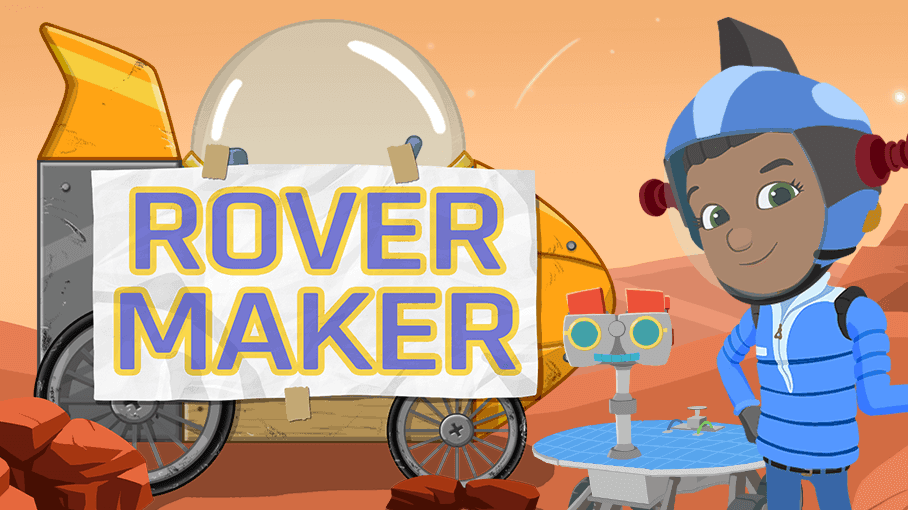 Ready Jet Go Rover Maker Game