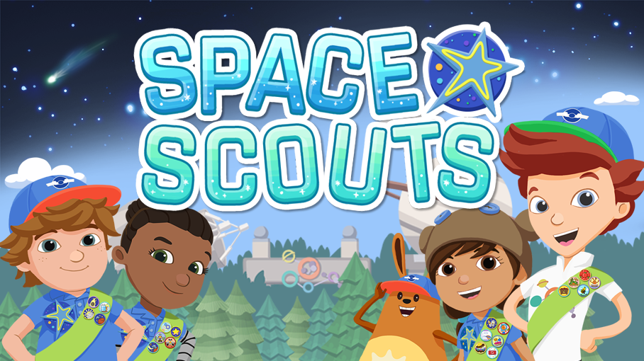 Ready Jet Go Space Scouts Play five games and more
