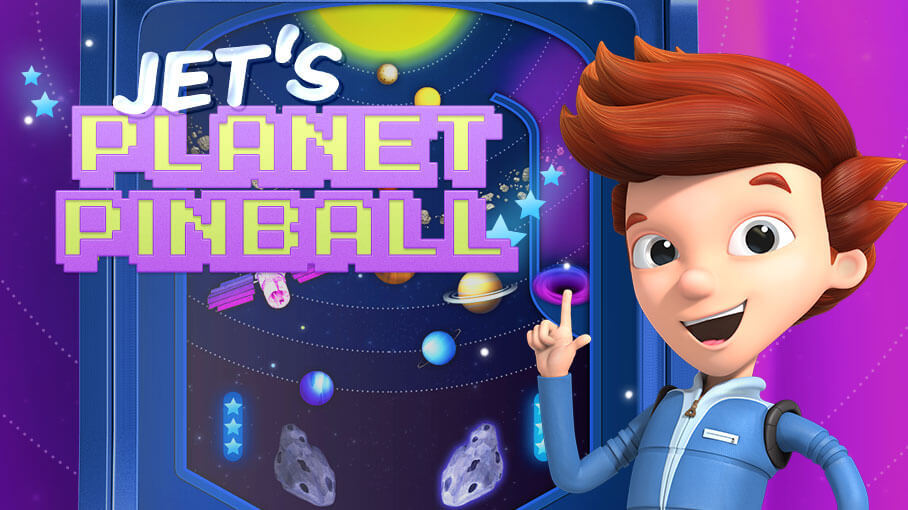 Play Jet's Planet Pinball!