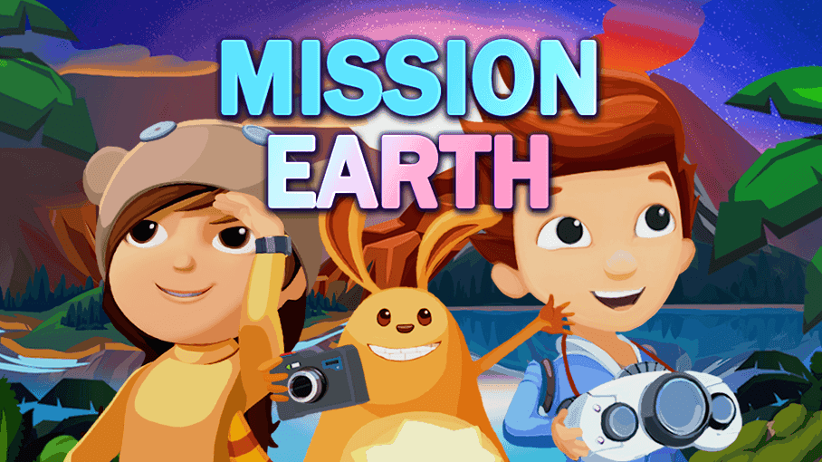 Play Ready Jet Go's Mission Earth!