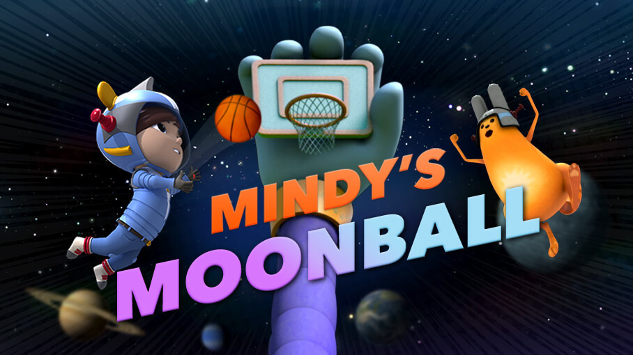 Play Mindy's Moonball Game on PBS Kids!