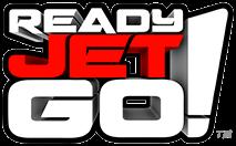Ready Jet Go logo.