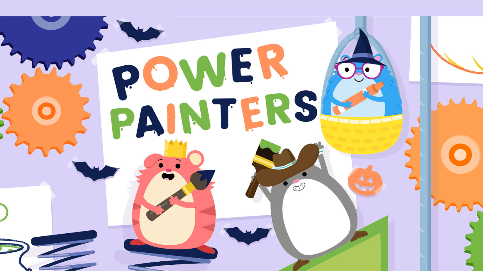 Power Painters game