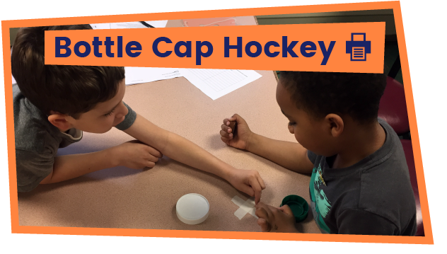 Bottlecap Hockey
