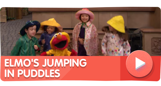 Elmo's Jumping in Puddles