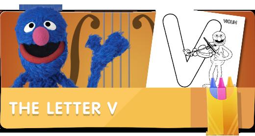The Letter V