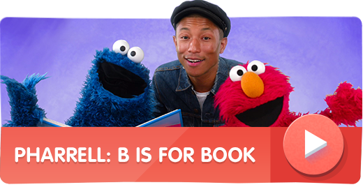 Pharrell Williams: B is for Book